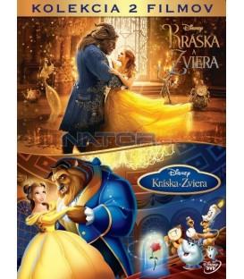 KRÁSKA A ZVÍŘE 2017 (Beauty and the Beast) kolekce 2DVD