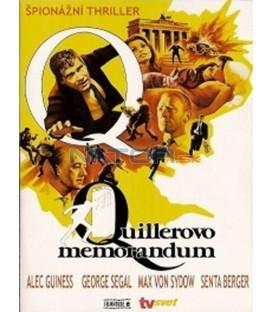 Quillerovo memorandum (Quiller Memorandum, The) DVD