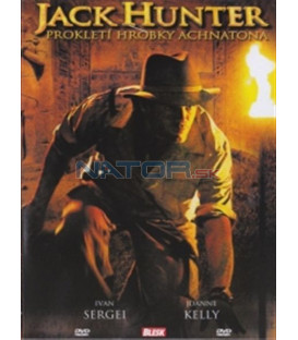 Jack Hunter: Prokletí hrobky Achnatona (Jack Hunter and the Quest for Akhenaten´s Tomb) DVD