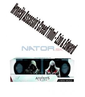 Hrnečky Assassins Creed 110ml - Ezio & Edward