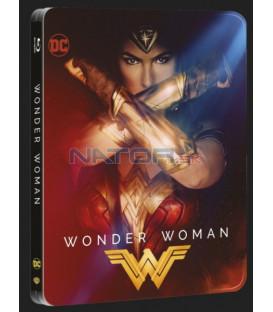 WONDER WOMAN -  Blu-ray 3D + 2D steelbook