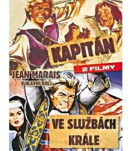 Kapitan + Ve Sluzbach Krale 2 x DVD