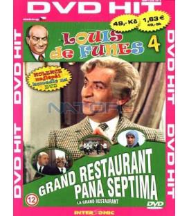 Luis de Funes 4: Grand restaurant pana Septima (Grand restaurant, Le) DVD