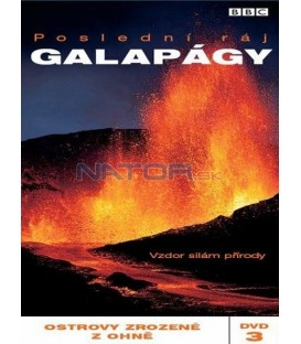 Galapágy č. 3 - Ostrovy zrozené z ohně DVD