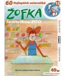 Žofka ředitelkou ZOO DVD