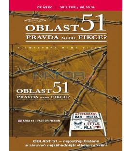 Oblast 51 - Pravda nebo fikce? (Area 51 - Fact or Fiction) DVD