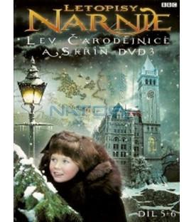 Letopisy Narnie - Lev, čarodějnice a skříň - DVD 3, díl 5 + 6 (The Chronicles of Narnia - The Lion,  Witch, & the Wardrobe) DVD