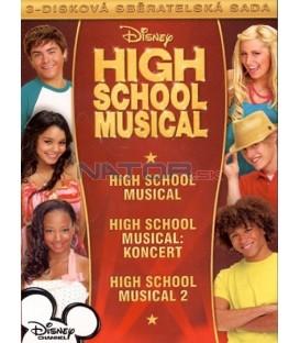 Kolekce: High School Musical - TRILOGIA (3 DVD)