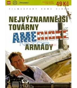 Nejvýznamnější továrny americké armády (GI Factory) DVD