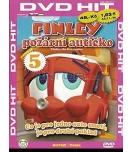 Finley - požární autíčko - DVD 5 (díly 17-20)(Finley, the Fire Engine)