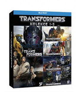 Transformers kolekce 1-5 (Transformers 5-Movie Collection) (5Blu-ray)