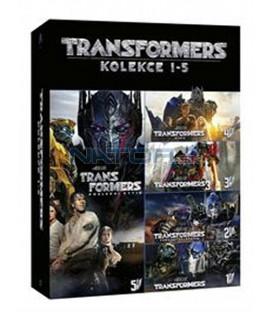 Transformers kolekce 1-5 (Transformers 5-Movie Collection) 5DVD