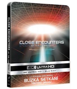 Blízká setkání třetího druhu (Close Encounters of the Third Kind) UHD+BD - 2 x Blu-ray STEELBOOK