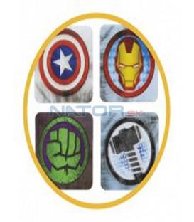 Podtácky Avengers - 3D efekt (8 ks)
