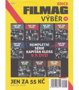 Filmag výběr 12-KAPITÁN KLOSS – 9. DVD