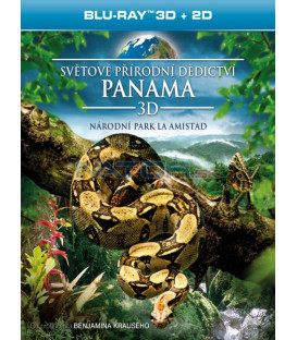 Světové přírodní dědictví: Panama - Národní park La Amistad (Blu-ray 3D)