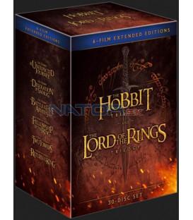 Kolekce Středozemě (prodloužené verze) 18BD+12DVD bonus (Blu-ray)