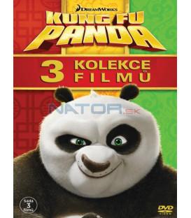 Kung Fu Panda 1-3 (3DVD)