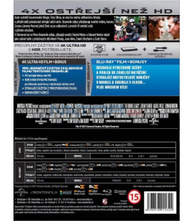 BOURNEŮV ODKAZ (The Bourne Legacy) UHD+BD - 2 x Blu-ray