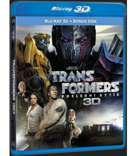 TRANSFORMERS: POSLEDNÍ RYTÍŘ (Transformers: The Last Knight) -  Blu-ray 3D + 2D bonus disk
