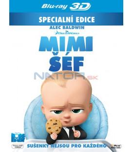 Baby šéf / Mimi šéf (The Boss Baby 2017) Blu-ray 3D + 2D