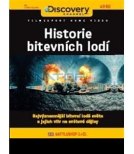Historie bitevních lodí (Battleship I. + II.) DVD