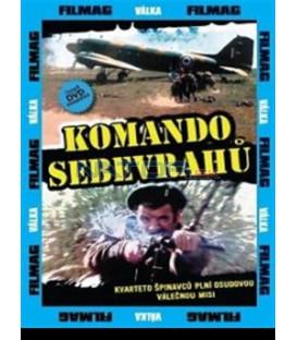 Komando sebevrahů / Sebevraždené komando  DVD (Comando suicida)