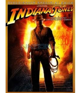 Indiana Jones a království křišťálové lebky - 2 DVD specialni edice(Indiana Jones and the Kingdom of the Crystal Skull)