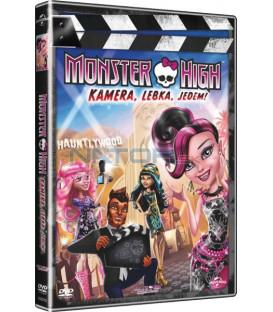 Monster High: Kamera, Lebka, Jedem! DVD