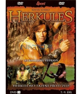 Herkules - Legendární výpravy - DVD 3 (7. - 9. díl) (Hercules: The Legendary Journeys)