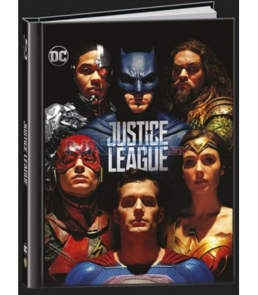 Liga spravedlnosti 2017 (Justice League) Digibook Blu-ray 3D + 2D