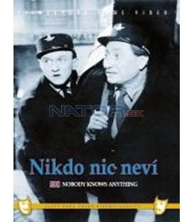 Nikdo nic neví DVD