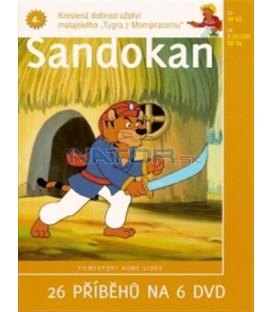 Sandokan 4 (Sandokan) DVD