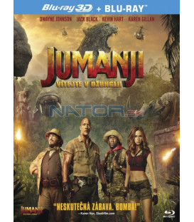 JUMANJI: VÍTEJTE V DŽUNGLI! 2017 (Jumanji: Welcome to the Jungle) Blu-ray 3D + 2D