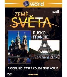 Země světa 9 - Rusko, Francie (Discovery Atlas) DVD