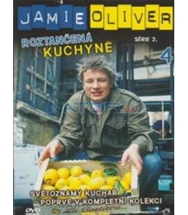 Jamie Oliver - série 2. - Roztančená kuchyně - disk 4(Oliver´s Twist)