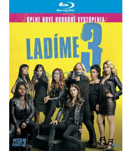 Ladíme 3 2017 (Pitch Perfect 3) Blu-ray (SK obal)