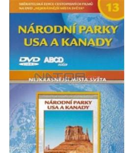 Nejkrásnější místa světa 13 - Národní parky USA a Kanady DVD