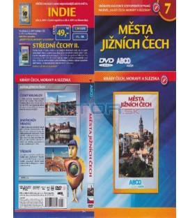 Krásy Čech, Moravy a Slezska 7- Města jižních Čech DVD