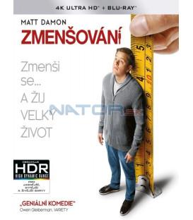 Zmenšování 2017 (Downsizing) (4K Ultra HD) - UHD+BD - 2 x Blu-ray