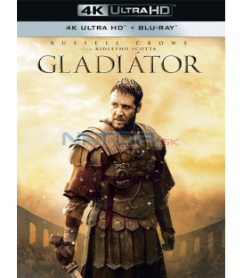 Gladiátor 2000 (Gladiator) (4K Ultra HD) - UHD+BD - 2 x Blu-ray (SK obal)