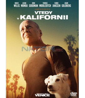 Vtedy v Kalifornii 2017 (Once Upon a Time in Venice) DVD (SK obal)