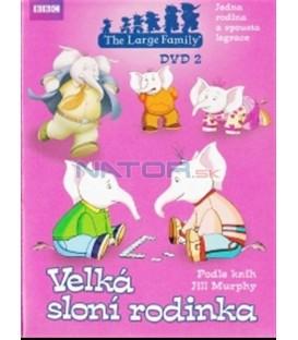 Velká sloní rodinka - DVD 2 (The Large Family) DVD
