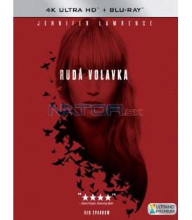Rudá volavka 2018 (Red Sparrow) (4K Ultra HD) - UHD+BD - 2 x Blu-ray