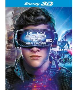 Ready Player One: Hra začíná 2018 (Ready Player One) Blu-ray 3D + 2D