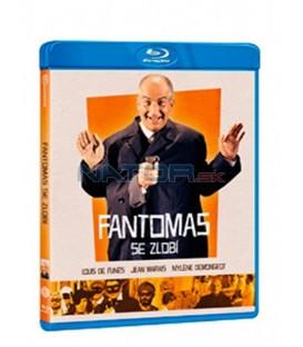 Fantomas se zlobí 1965 (Fantômas se déchaîne) Blu-ray