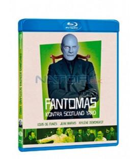 Fantomas kontra Scotland Yard 1966 (Fantômas contre le Scotland Yard) Blu-ray