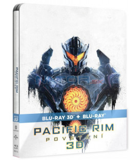 Pacific Rim 2: Povstání 2018 (Pacific Rim: Uprising) Blu-ray Steelbook 3D + 2D