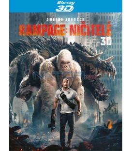 Rampage: Ničitelé / Besnenie 2018 (Rampage) Blu-ray 3D + 2D