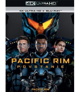 Pacific Rim 2: Povstanie 2018 (Pacific Rim: Uprising) (4K Ultra HD) - UHD+BD - 2 x Blu-ray (SK OBAL)